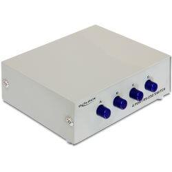 Switch 4x DB9 M vers 1 DB9 F RS232/422/485