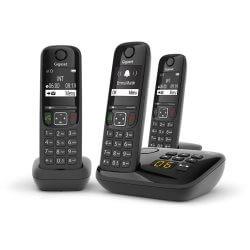 Téléphone Répondeur DECT Gigaset AS690A + 2 AS690