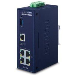 Routeur industriel 1Wan 4Lan SPI firewall -40/75°