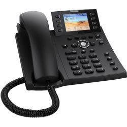 Téléphone SIP Snom D335 4 comptes noir USB