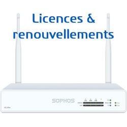 Licences pour Firewall Sophos XG 105