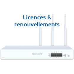 Licences pour Firewall Sophos XG 125