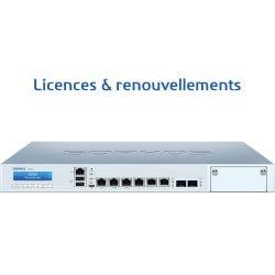 Licences pour Firewall Sophos XG 210
