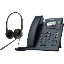 Bundle promo téléphone T31P + casque HS34 Stéréo