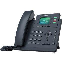 Téléphone SIP T33G 4 comptes Giga PoE