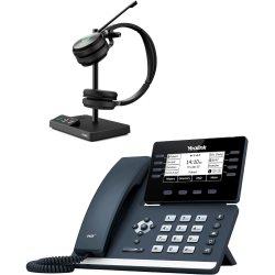 Bundle promo téléphone T53 + casque WH62 Stéréo