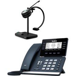 Bundle promo téléphone T53W + casque WH62 Mono