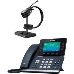 Bundle promo téléphone T54W + casque WH62 Stéréo