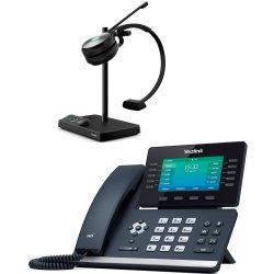 Bundle promo téléphone T54W + casque WH62 Mono